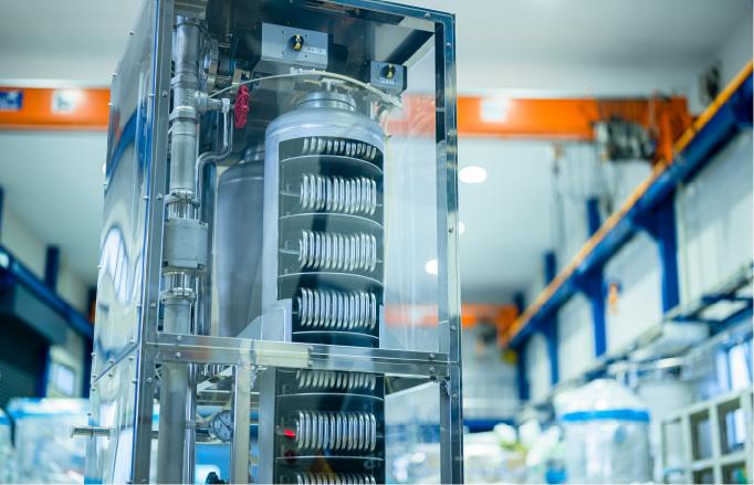 ローカルクーラーユニット・サニタリー対応熱交換器